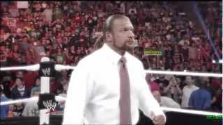 Triple H vs Brock Lesnar Wrestlemania 29 Promo