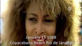 Tina Turner in Rio Promotion -  Jan 15 1988