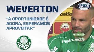 VERDÃO AO VIVO! Goleiro Weverton fala sobre decisão da Libertadores entre Palmeiras e Grêmio