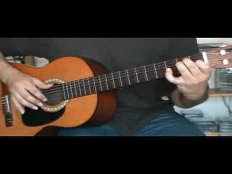 Jouer mon Amant de St-Jean de Patrick Bruel à la guitare