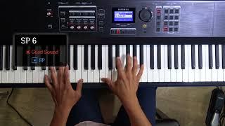 KURZWEIL SP6 EP피아노 음색 및 설정방법