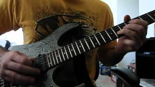 Iron Maiden The sign of the Cross solo cover