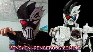 Kamen Rider Genm Dengerous ZomBie [Effet Henshin]