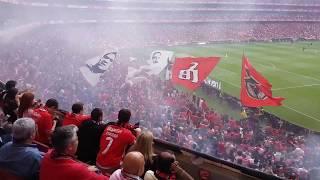 O Tetra: A festa do Primeiro golo do Benfica Vitória de Guimarães