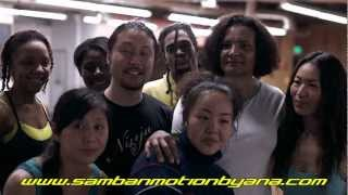 Samba N Motion goes to Japan Promo