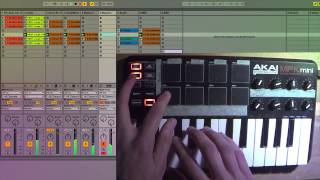 Akai MPK Mini Live Performance Vol.1 - Ableton Live 9