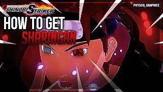 How To Unlock The Sharingan — Naruto To Boruto Shinobi Striker