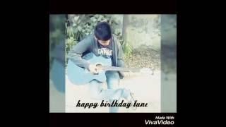 Happy birthday guitar tone