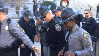 VIDEO: Arrest At SC State House Secession Rally