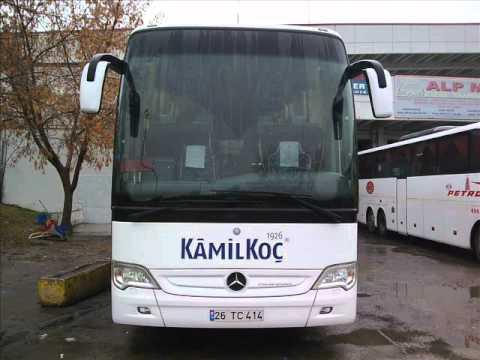 KAMİLKOÇ  Bursa,Ankara, Çanakkale Hattı Otobüsleri 2009..wmv