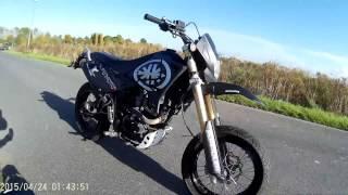 Kreidler Supermoto 125 DD | First Video | Summer feeling | 2016