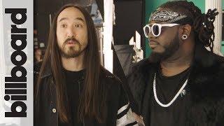Steve Aoki's Kolony Music Videos ON SET w/ T-Pain, 2 Chainz & DVBBS | Billboard EXCLUSIVE