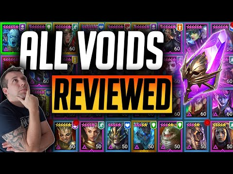 ALL VOIDS REVIEWED! x2 VOID SUMMONS | Raid: Shadow Legends