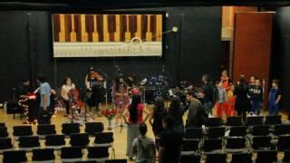 Denisse Vera concierto de grado parte 1 (antes del concierto)
