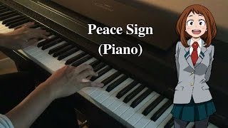 Peace Sign - Boku no Hero Academia 2 OP (Piano cover)
