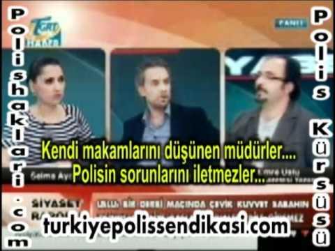 Tgrt Tv Polis Sorunlarını aktardı
