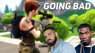 "Fortnite Montage - ""Going Bad"" (Drake & Meek Mill)"