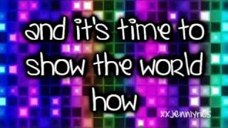 Make It Shine - Victoria Justice (Victorious) Lyrics ON SCREEN
