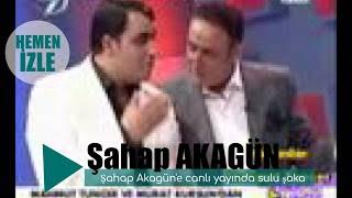 Şahap Akagün'e canlı yayında sulu şaka