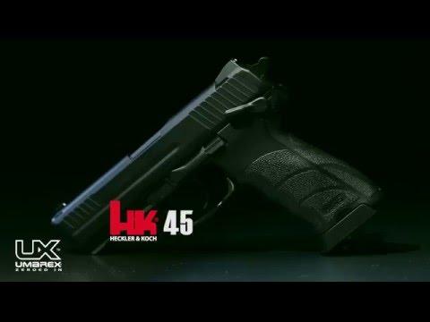 Video: Heckler & Koch HK45 CO2 BB Pistol   Pyramyd Air