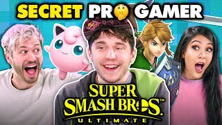 Professional Smash Bros Player DESTROYS Gamers Again (Plup) | React Gaming