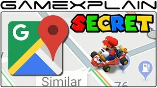 Google Maps Mario Kart Easter Egg Celebrates MAR10 Day! (iPhone & Android)