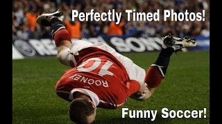 Players use there heads just as good as feat! Famous Funny Soccer Moments - Perfectly timed!