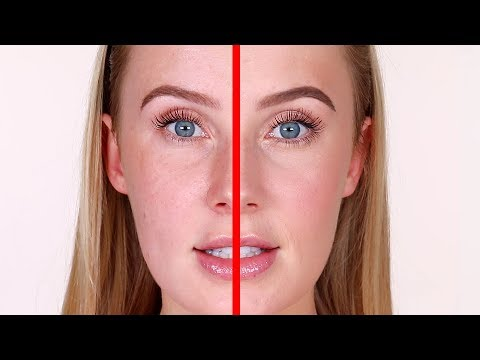 SIDE BY SIDE: Ultra Natural vs. Natural Makeup | Lauren Curtis