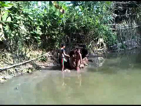Fishing in Pond – Balagonj – Sylhet