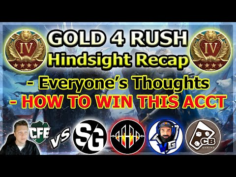 RAID Shadow Legends | Gold 4 Rush | Recap & GIVEAWAY!!!