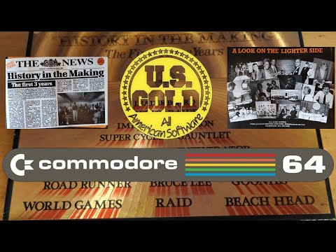 Commodore Sistema Real 50FPS US GOLD History in The Making PACK GOLD