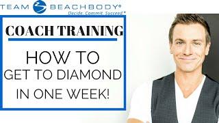 Team Beachbody Coach Training - How to reach Diamond In 1 Week