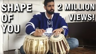 Shape of You - Tabla Cover