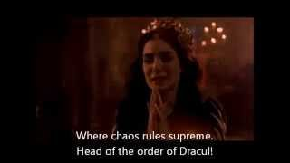 SEPTIC FLESH - Order of Dracul - English Lyrics on Screen