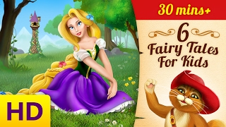 Fairy Tales for Kids | Rapunzel | Three Little Pigs | Princess and the Pea | Bedtime Story for Kids