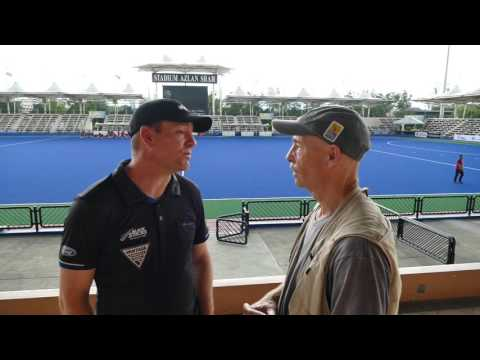 Darren Smith New Zealand mens hockey coach comments post GB friendly game