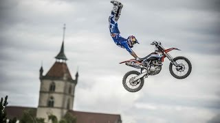 Freestyle motocross competition in Switzerland - Swatch Free4Style