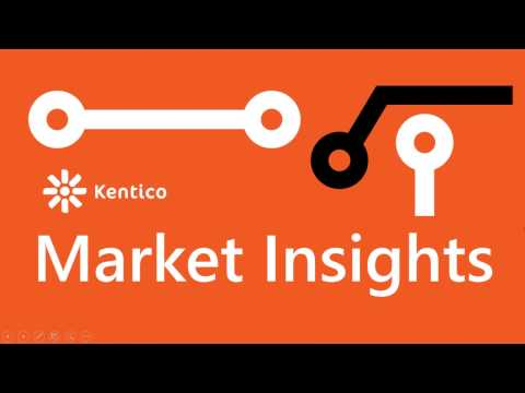 Kentico Market Insights Webinar - Digital Maturity for Associations