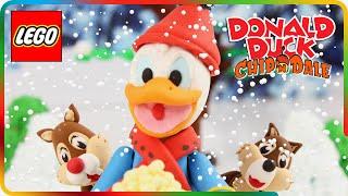 ♥ LEGO PlayDoh Donald Duck & Chip 'n' Dale POPCORN Disney Episode