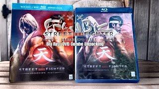 Street Fighter Assassin's Fist Blu-Ray/ DVD Combo unpacking