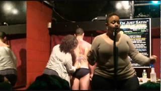 "Storm Marrero @""I'm Just Sayin"" Open Mic & Art Show @The Alchemist Lounge 05/14/11.avi"