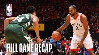 BUCKS vs RAPTORS | Toronto Takes Two Up North | Game 4