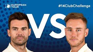 14 Club Challenge (Celebrity Edition) - Jimmy Anderson vs Stuart Broad
