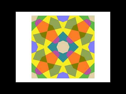 伊斯蘭的幾何拼貼 14A