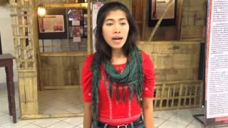 Babaylan Chanting inside Roxas City Museum
