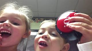 Cainan and Adelin's First Video