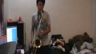 Jay Chou - Simple Love  (简单爱) Tenor Saxophone