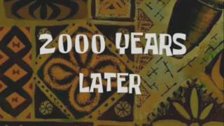 2000 Thousand Years Later Spongebob Time Card + Download Link on Description