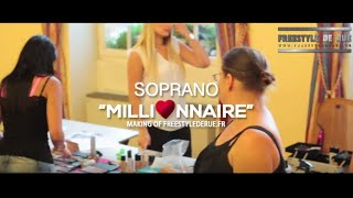 Freestyle De Rue - Soprano Making Of tournage Millionnaire