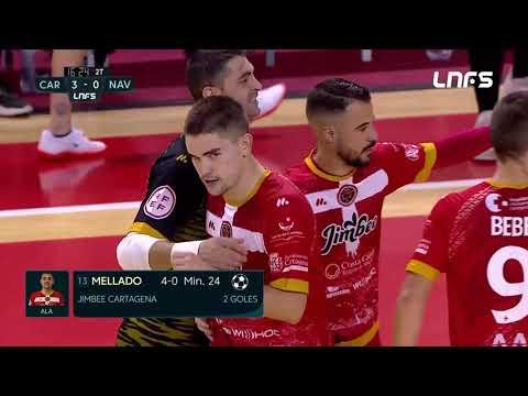 Jimbee Cartagena - Ribera Navarra FS Jornada 3 Temp 21-22